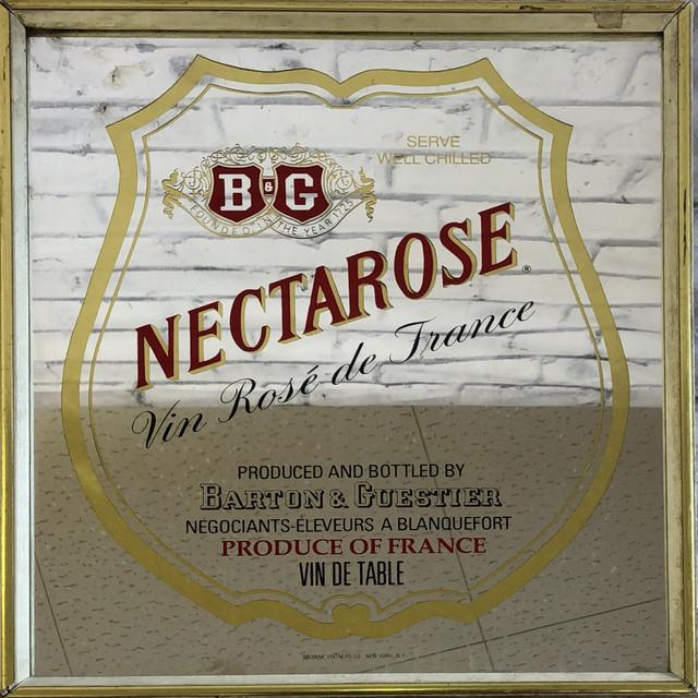 品番0716 パブミラー NECTAROSE ネクタロス 鏡 ヴィンテージ