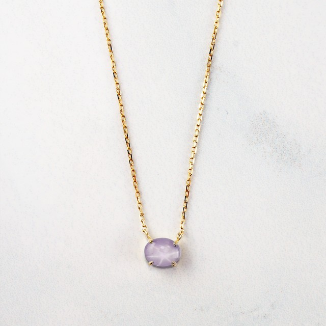Star Sapphire Necklace(N240-PSS)