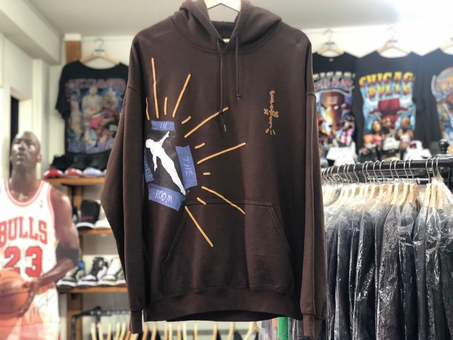 CACTUS JACK TRAVIS SCOTT HIGHEST LADDER HOODIE BROWN MEDIUM 100JC5047