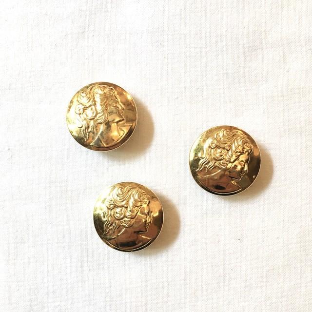 フランスボタン(ゴールド 女神)