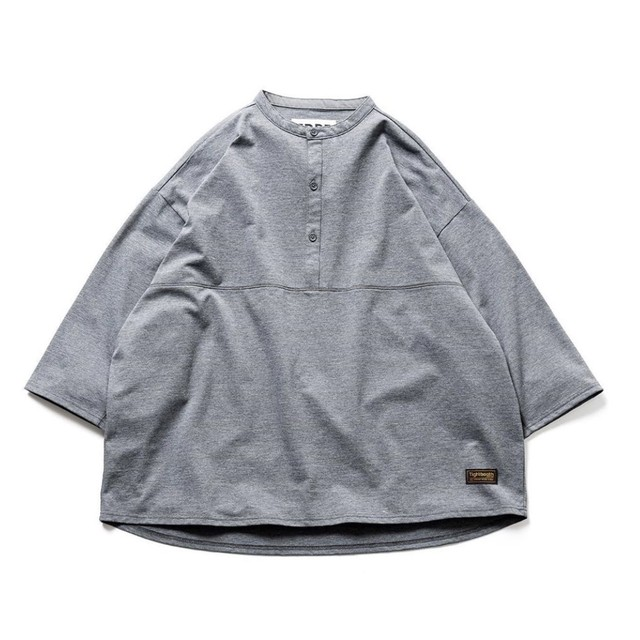 "【TIGHTBOOTH】""KANOKO BAND COLLAR T-SHIRT"""