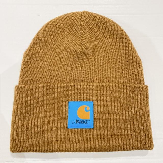 AWAKE × CARHARTT / KNIT CAP
