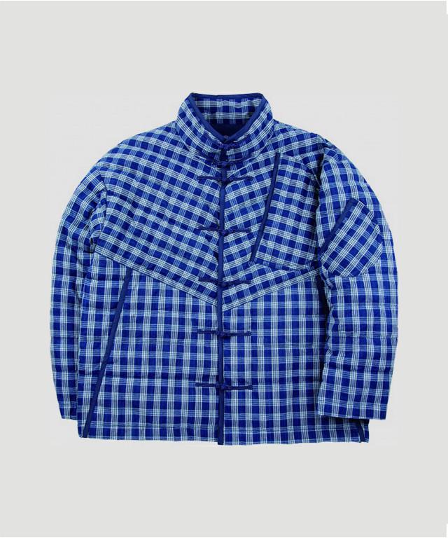 PORTER CLASSIC Palaka Chinese Down Jacket Indigo PC-002-1179-411ND