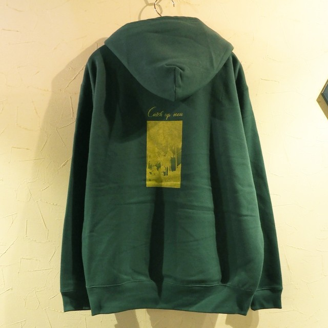 【一点物】Catch up soon Pullover Green XLサイズ