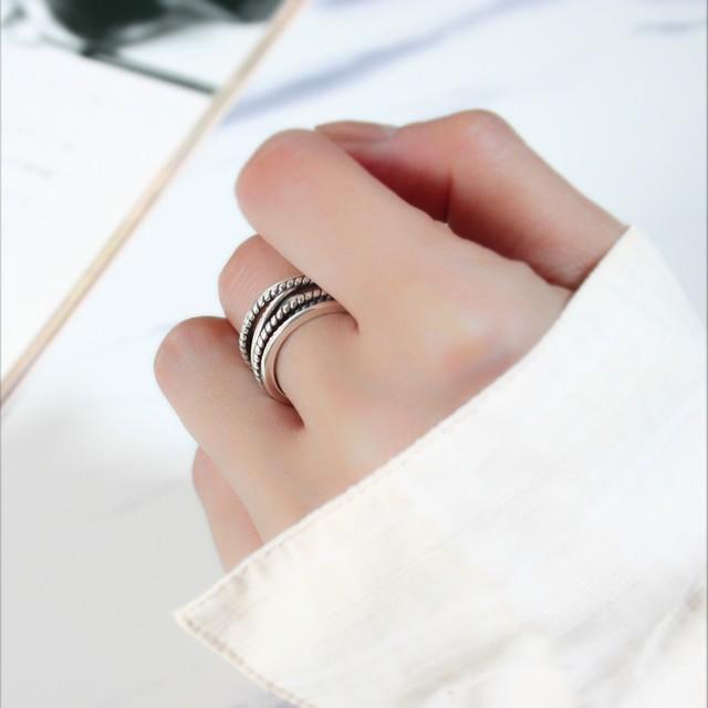 ローマンスタイルリング | 指輪 | ヴィンテージ | シルバー925 | レディース | 金属アレルギー