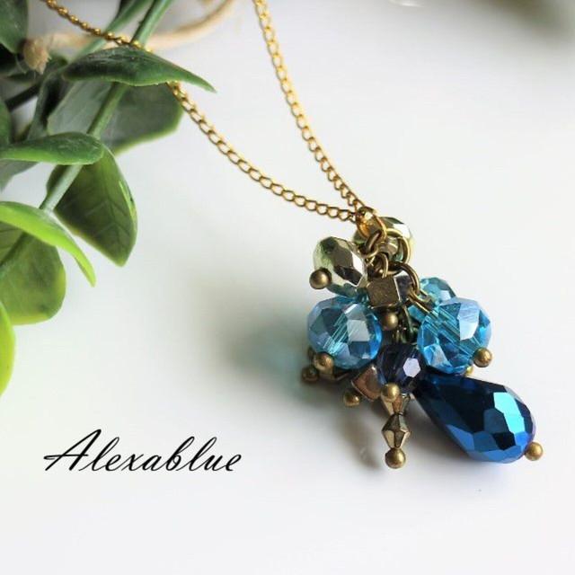 Blue jingleネックレス