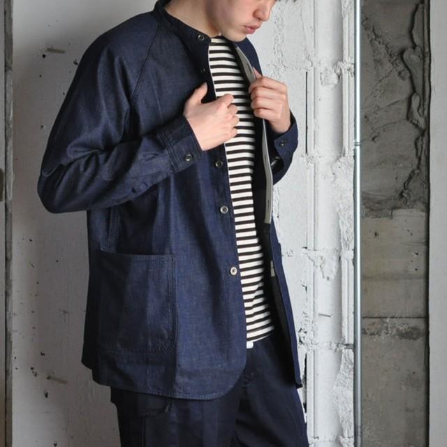 JAPAN BLUE JEANS no collar shirt jacket