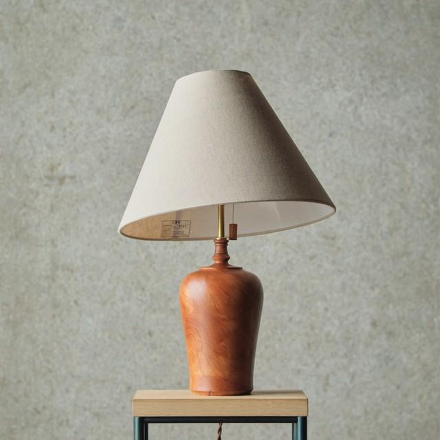 燈台 / Table Lamp-005 / 欅