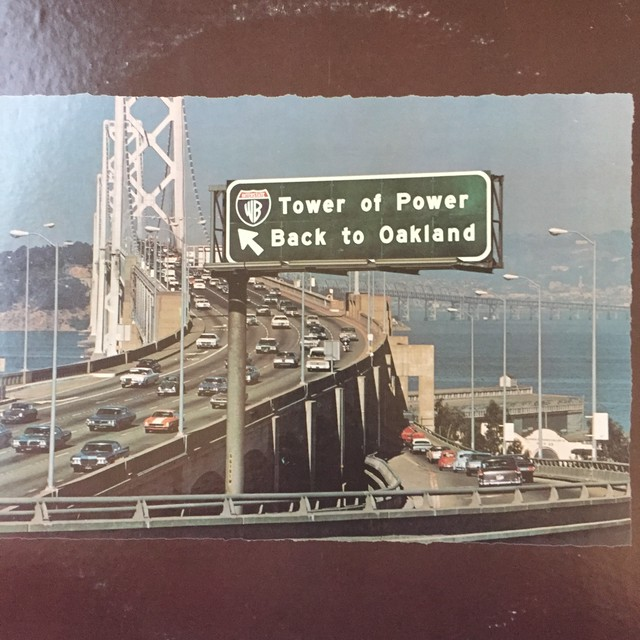 Tower Of Power ‎– Back To Oakland