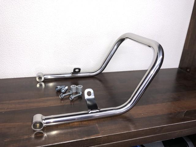 W175/W175TR グラブバー 専用設計