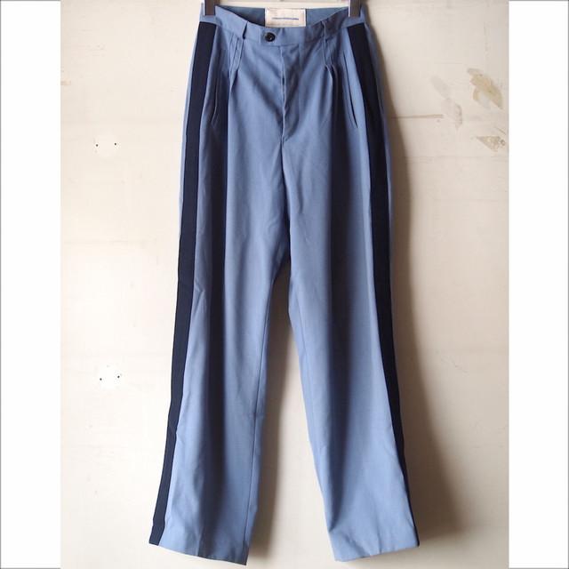 【sandglass】line tuck pants A/【サンドグラス】ライン タック パンツ エー