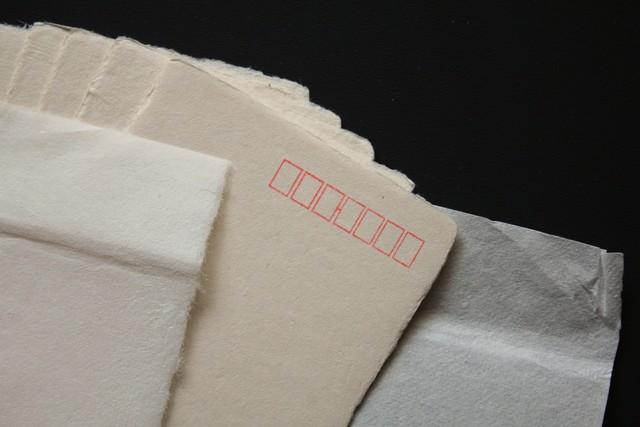 丸森和紙の葉書(20枚)