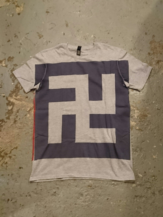"BAA COSTUME MFG. ""SWASTIKA"" BIG PRINT TEE"