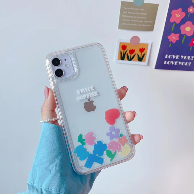 流れる♪small flower iphone case