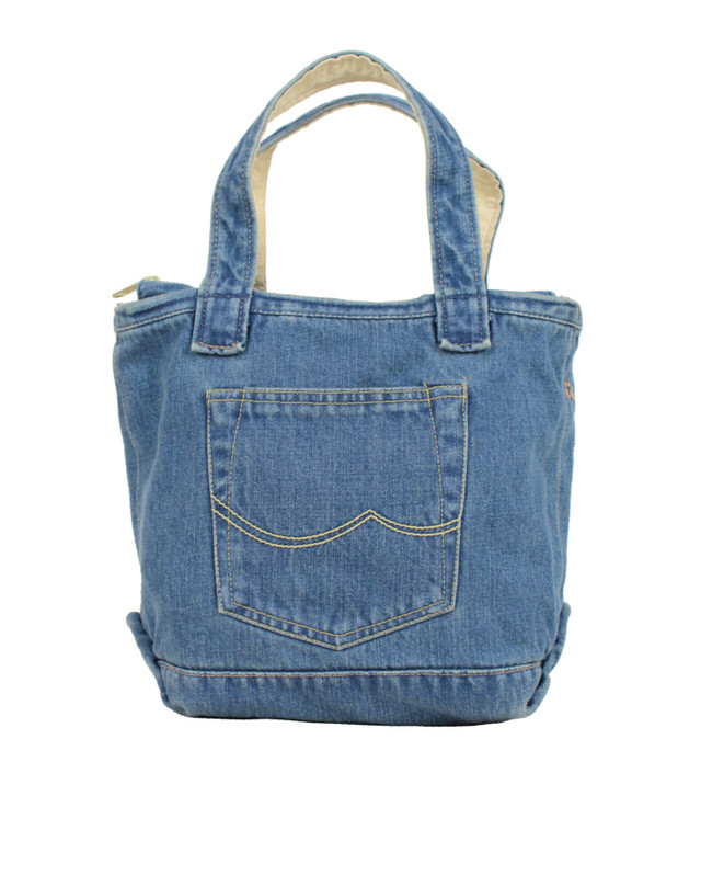 denim tote small - メイン画像