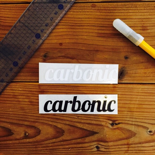 carbonic cutting sticker (M)