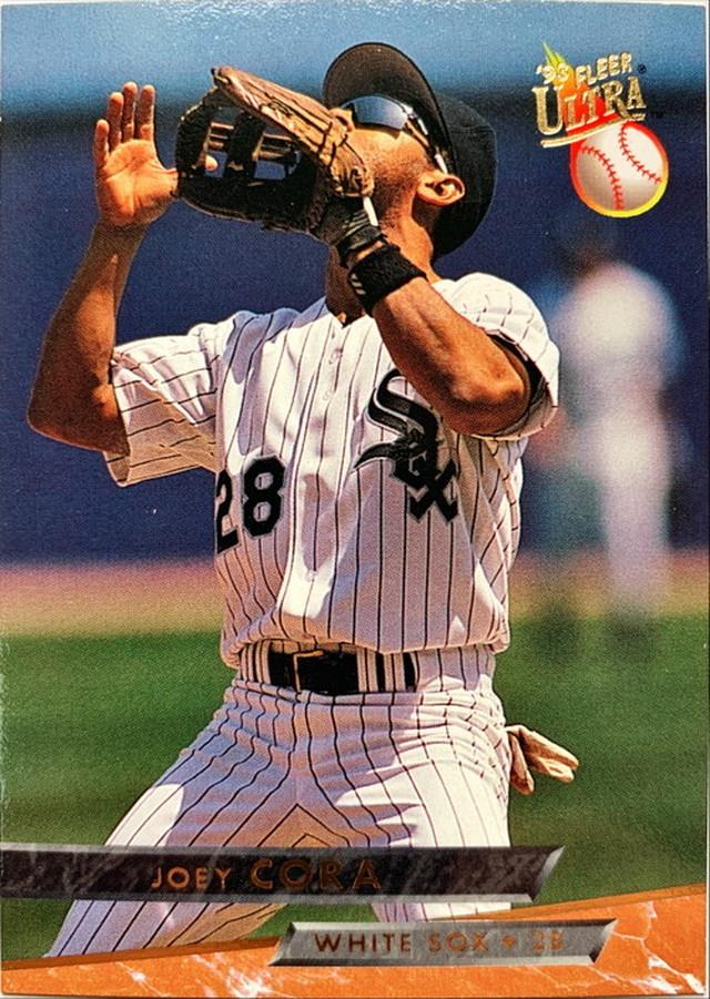 MLBカード 93FLEER Joey Cora #172 WHITE SOX