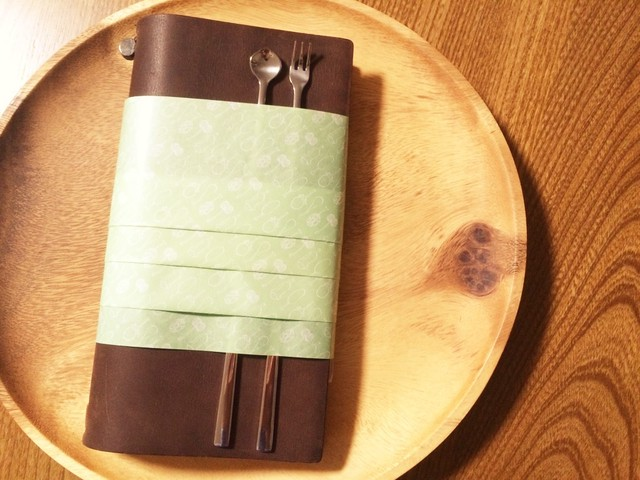 =nemunoki paper item= 粘菌柄包装紙