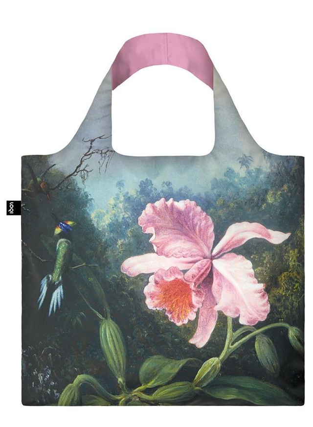 LOQI エコバック MARTIN JOHNSON HEADE Still Life with Orchid, c.1890 Bag