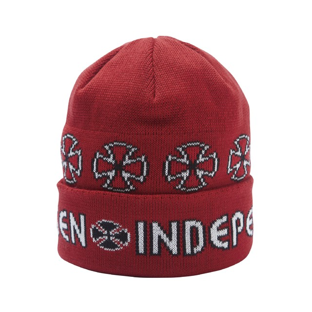 INDEPENDENT x EVISEN BEANI RED
