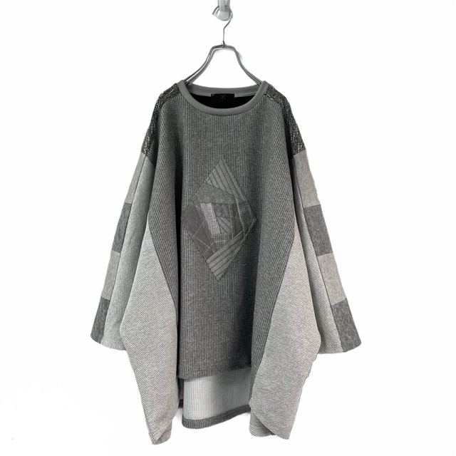 Wide-T-shirts PW (grey)