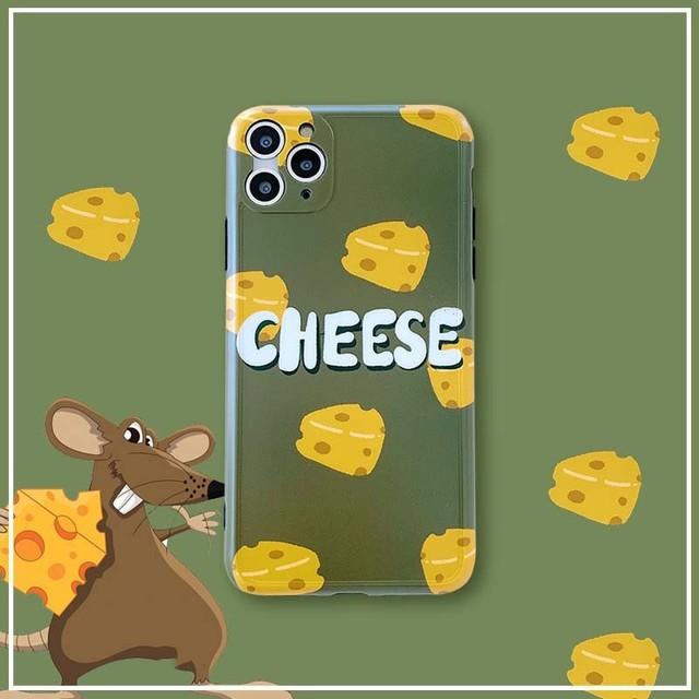 【オーダー商品】Cheese iphone case