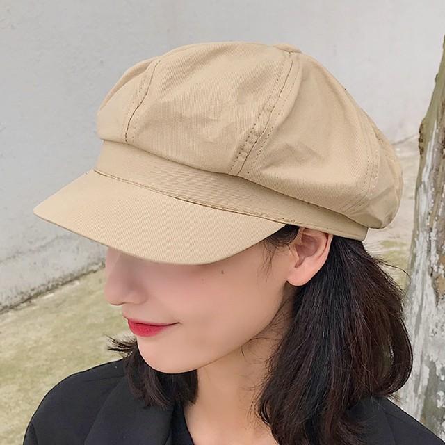 レトロキャスケット帽 S2299