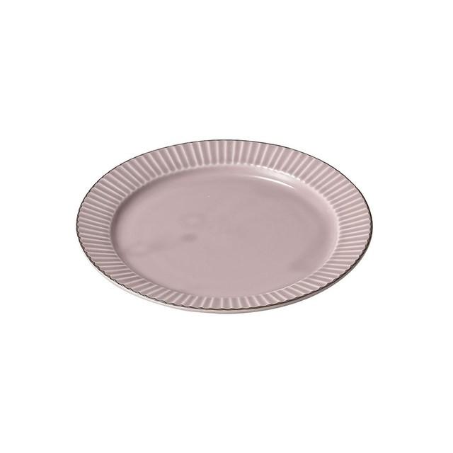「ティント Tint」プレート 皿 M 約17cm パープル 美濃焼 289009