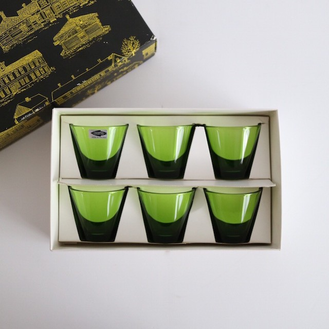 Nuutajarvi Kartio Shot Glass set of 6