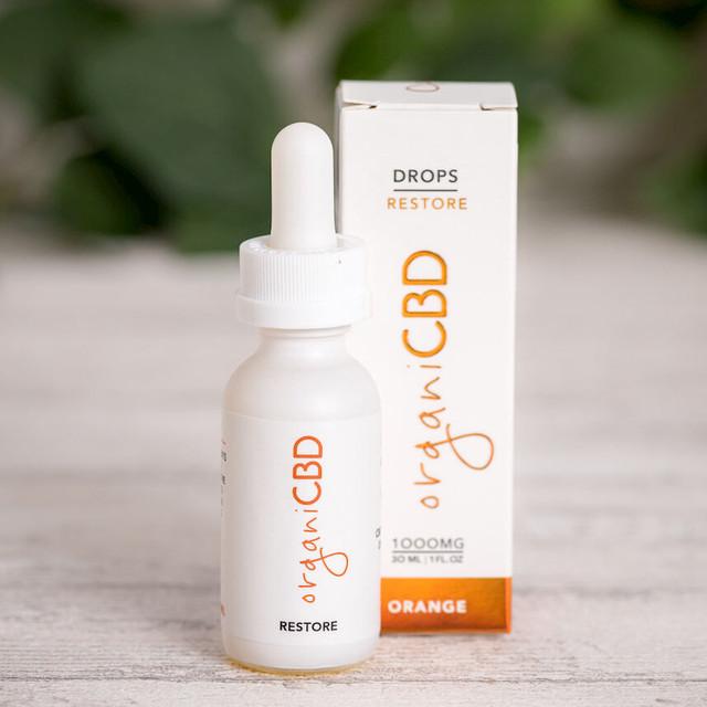 【再入荷】OrganiCBD CBDオイル レモン CBD1000mg/30ml