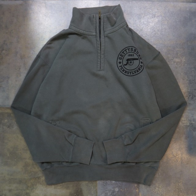 one point design half zip trainer