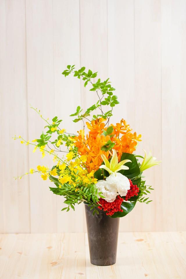 【プレゼントにぴったり】花束/11本のバラのロングブーケ(レッド)