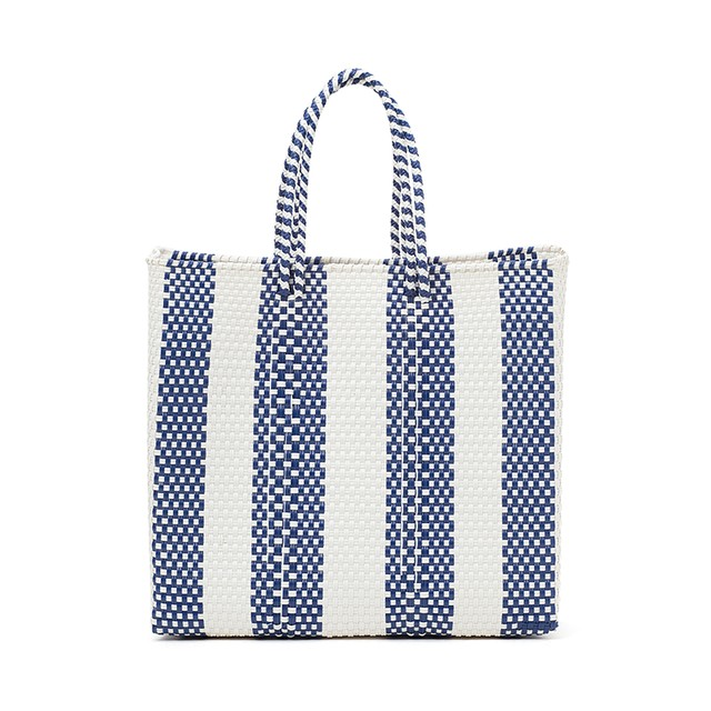 MERCADO BAG 4LINES-Navy (M)