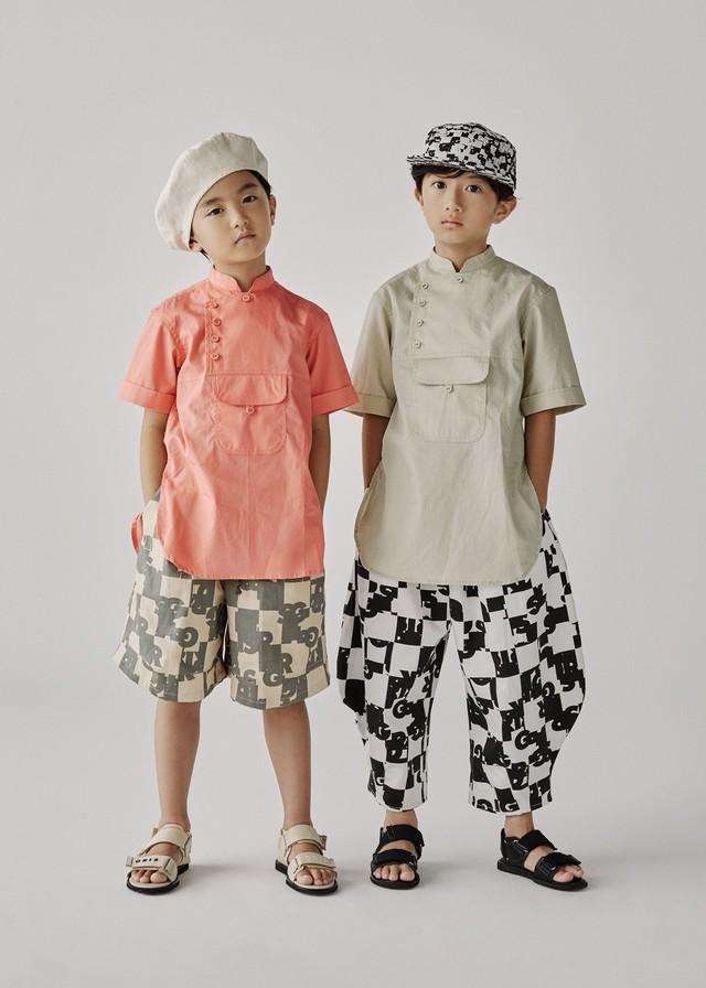 GRIS Desert Shirt  (Light Beige)(M) GR20SS-SH006A ※メール便可