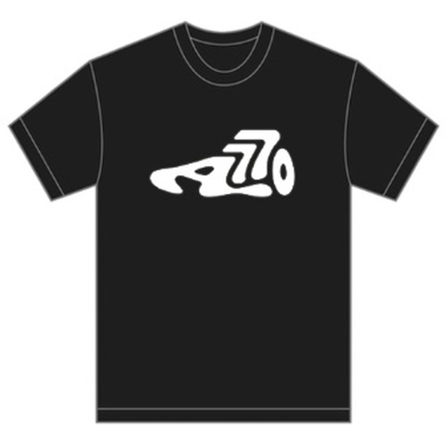 AOKICKS big logo T-shirt (black)