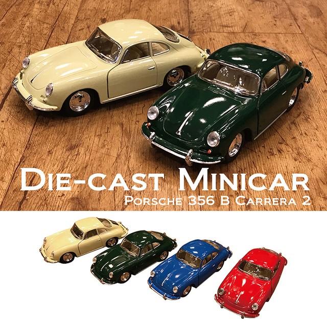 ダイキャストミニカーポルシェ(M)[Porsche 356 B Carrera 2 1/32]