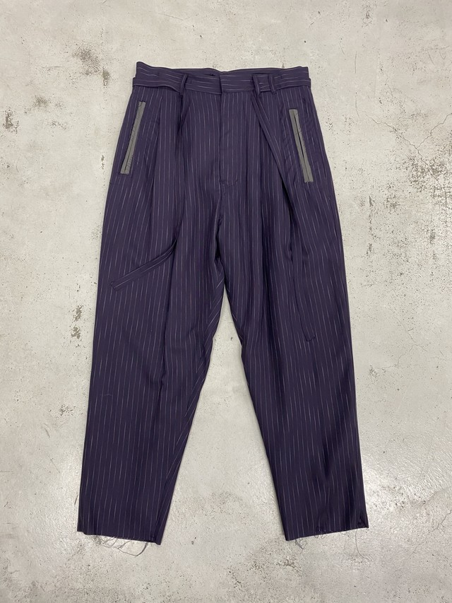 BED J.W. FORD /  2 tack stripe pant(Purple)