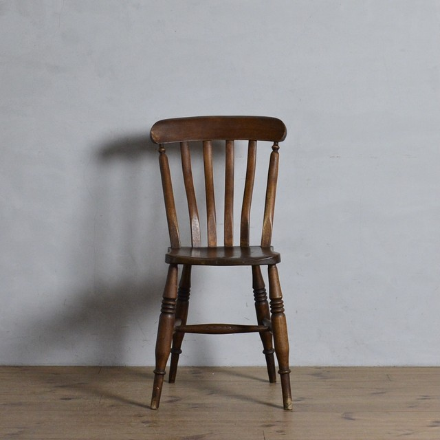 Kitchen Chair / キッチン チェア【A】〈ダイニングチェア・ウィンザーチェア・デスクチェア・椅子・カントリー〉 112066