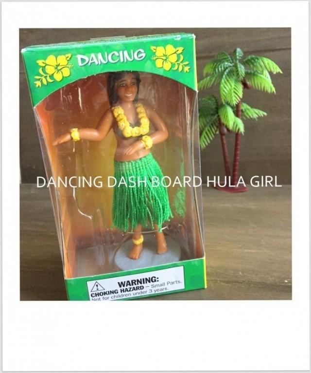 ハワイアン ビニールダュシュボードドール♪HULA GIRL