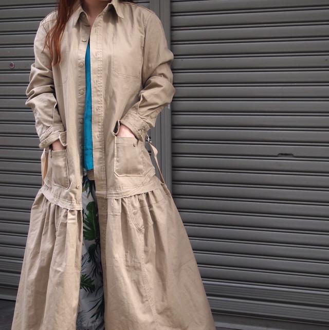 【sandglass】sack coat (set up)/ 【サンドグラス】サック コート(セットアップ)
