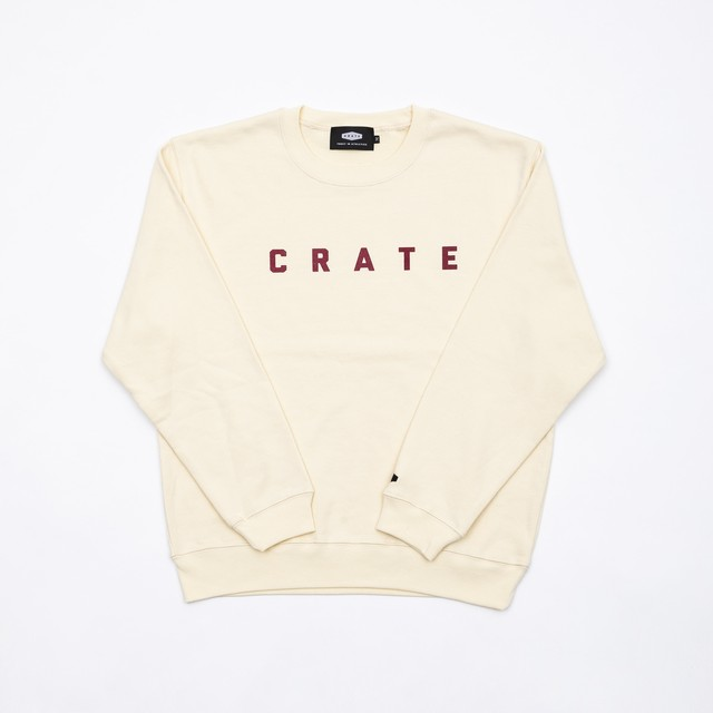 CRATE Basic Sweat NATURAL