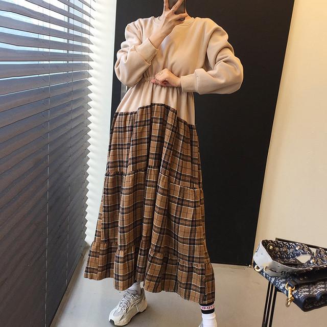 韓国ファッション ロングワンピース SHD360601