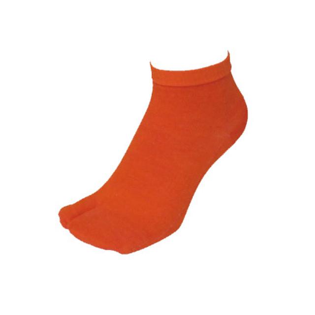 【Inner-Fact】 SKIN  SOCKS Tabi Socks Short(Dark Orange)