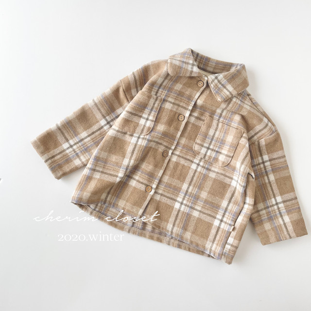 NO.1111 Check shirt