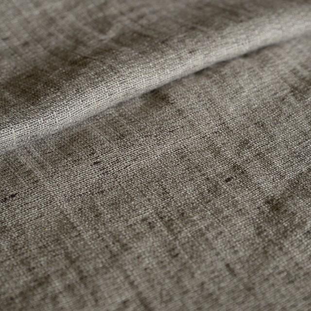 リトアニアリネン/R162-581 変わり織りブラウン
