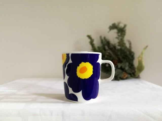 マグカップ / marimekko マリメッコ / UNIKKO ウニッコ  (ブルー) 250ml