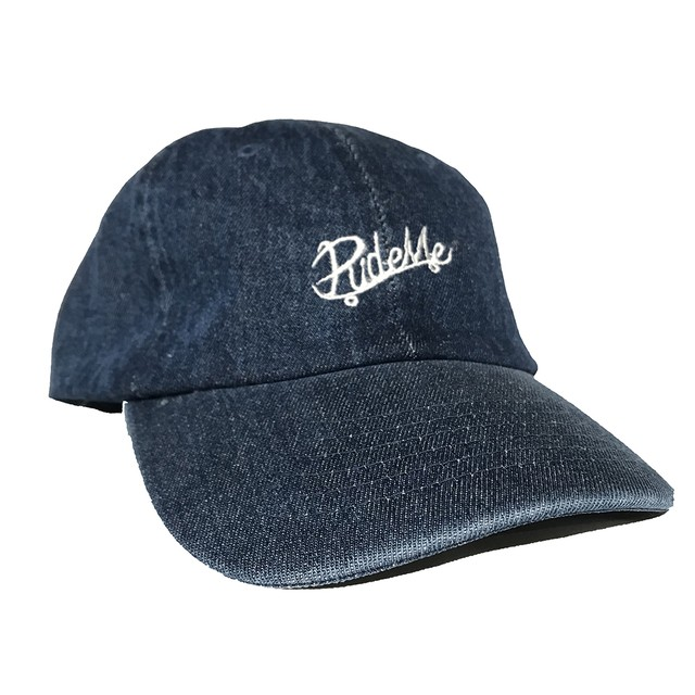【RideMe| ライドミー】RideMe SIX panel CAP/DARK DENIM