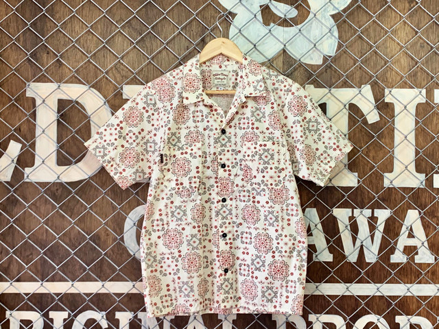 【新作】TROPICAL ORIGINAL PATTERN O/C SHIRT