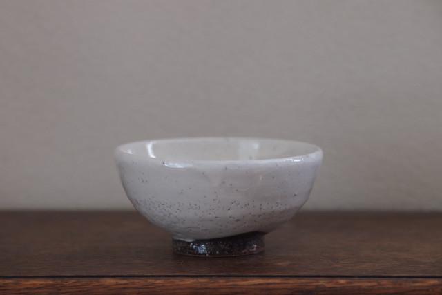濱田窯 粉引き飯碗