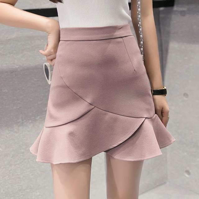 【bottoms】大人女子イレギュラー本当に可愛いスカート 24639680